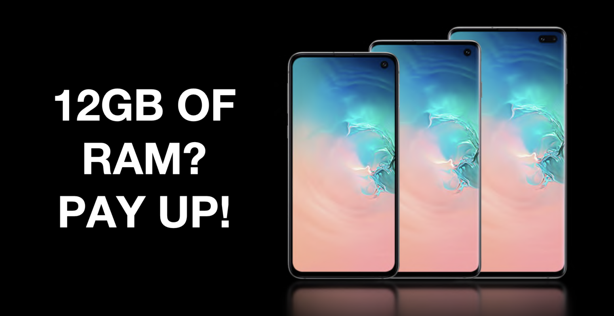 No One Should Pay More to Get Extra RAM on a Phone in 2019