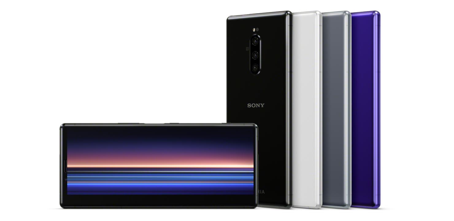 Sony Xperia 1 4K OLED MWC 2019
