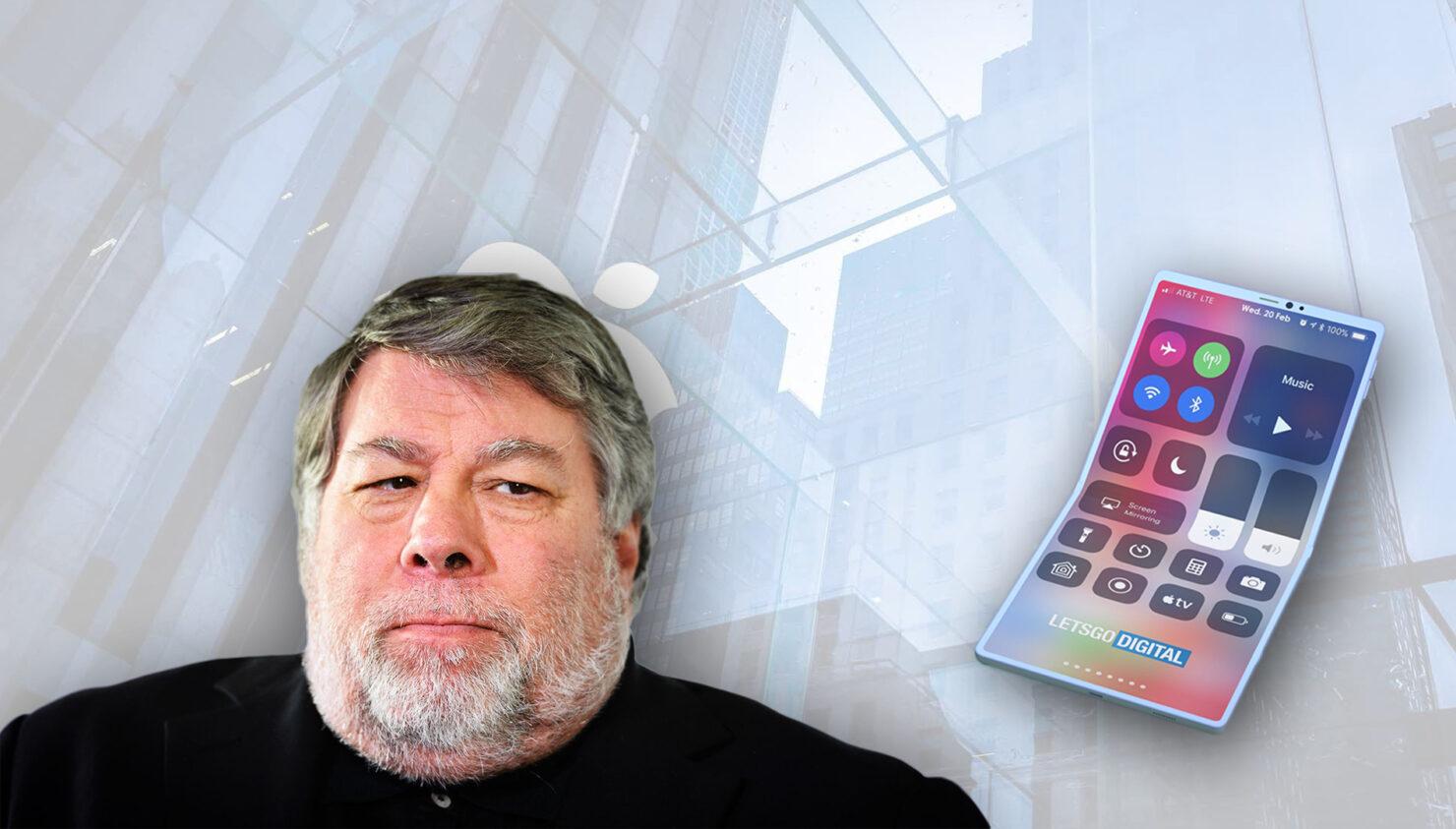 Steve Wozniak wants Apple folding iPhone