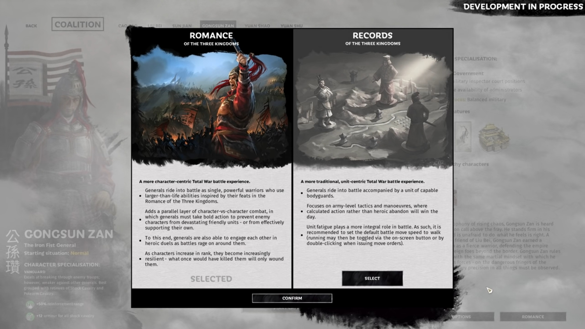 A Detailed Look at Records Mode for Total War: Three Kingdoms