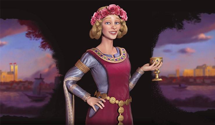 Eleanor of england civ 6