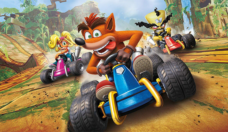 NarkyGaming : Live sur Crash Team Racing dans 30min ! WCCFcrashteamracingnitrofueled2-740x429