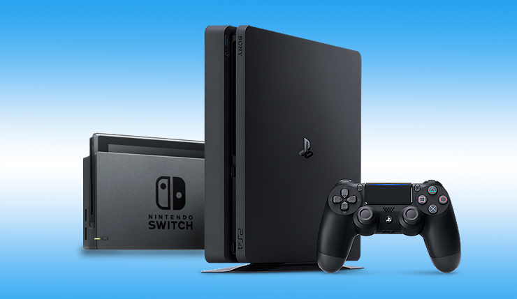 PlayStation 4 Narrowly Edges Out Nintendo Switch as Top