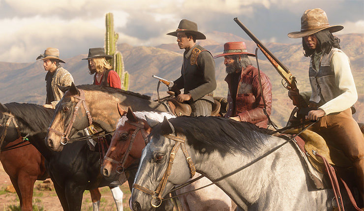 """Red Dead Online Adds New """"Spoils of War"""" Showdown Mode and"""
