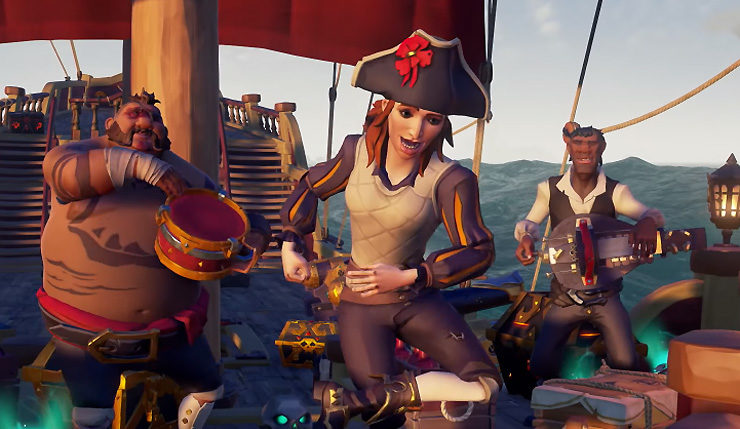 Sea of Thieves: How to Play With Friends - twinfinite.net