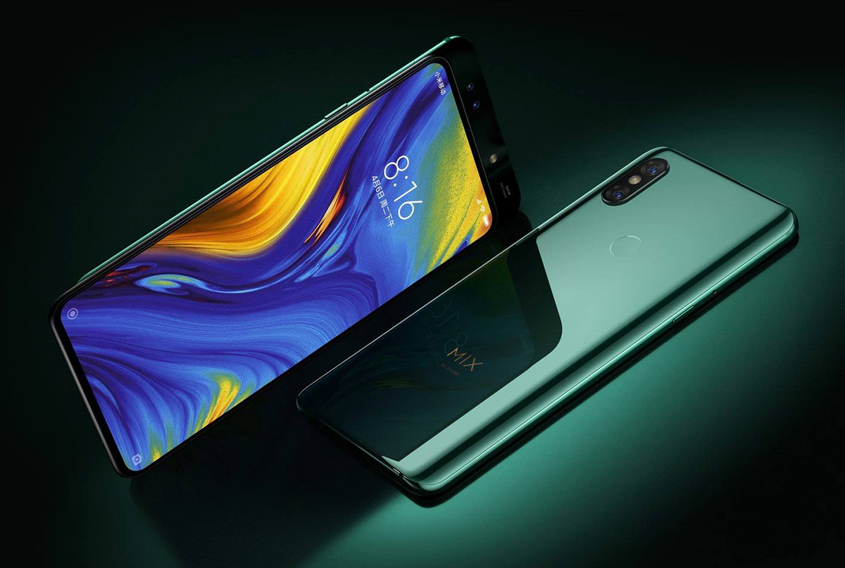Xiaomi Mi MIX 3 5G MWC 2019 official