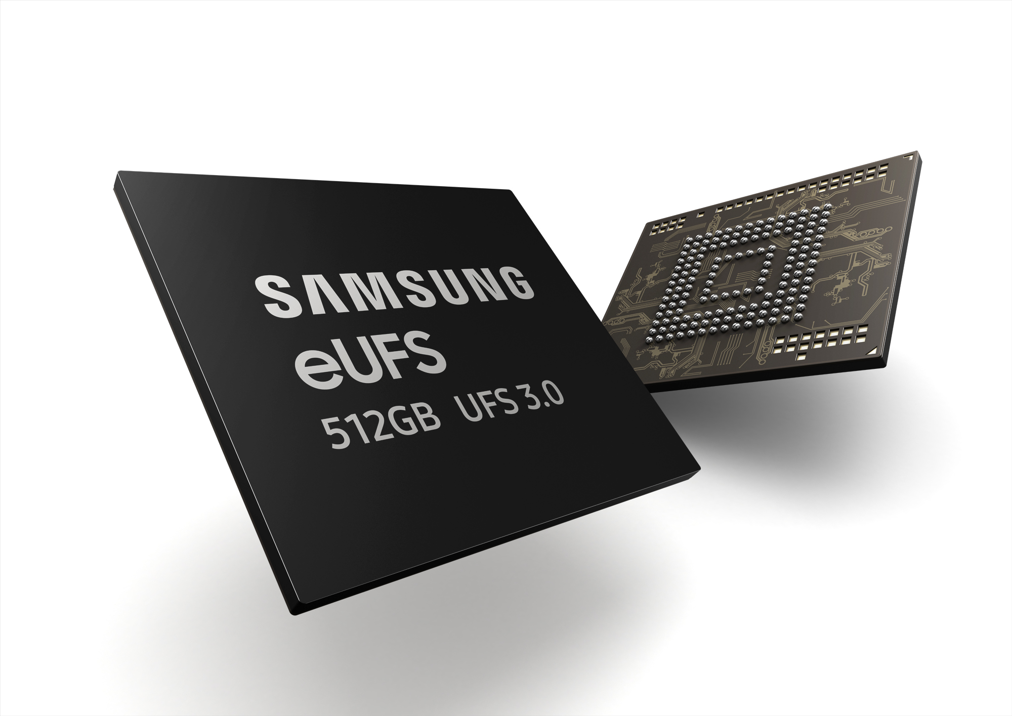 Samsung doubling current phone storage speed with eUFS 3.0, now in production