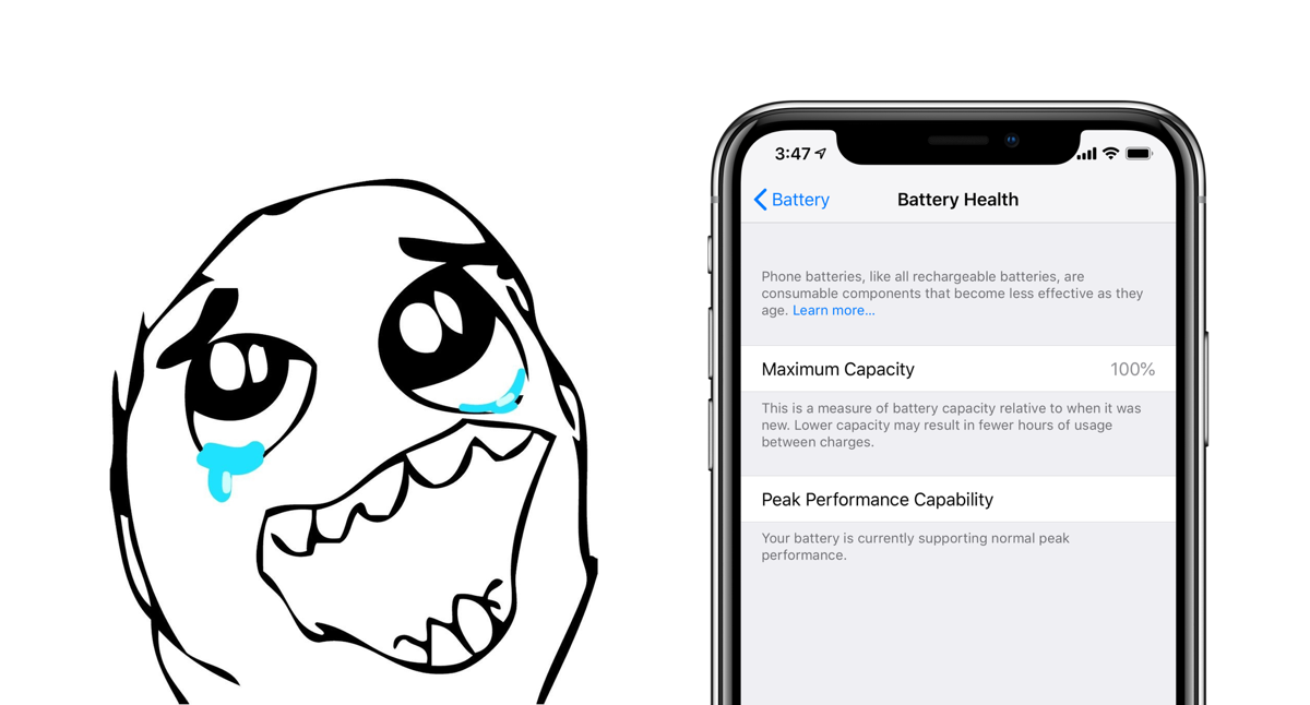 I Used An IPhone X For A Year And Had 99 Battery Health Heres How Did It