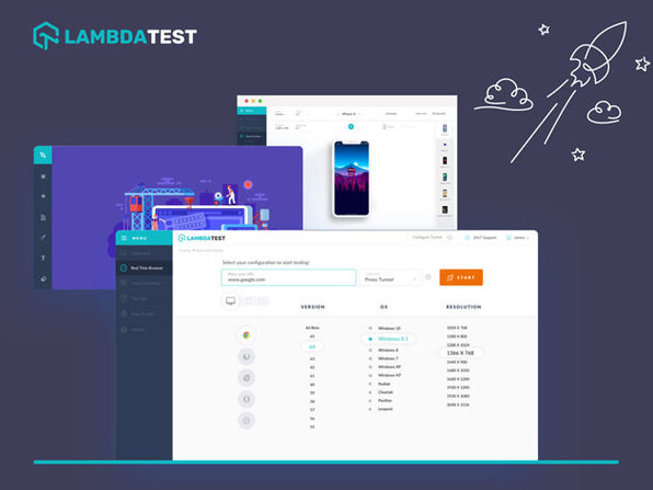 LambdaTest Web App & Website Testing