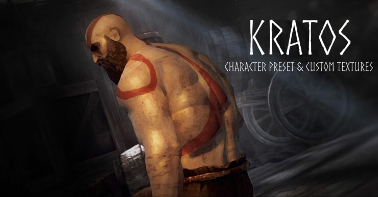 skyrim god of war mod kratos pc