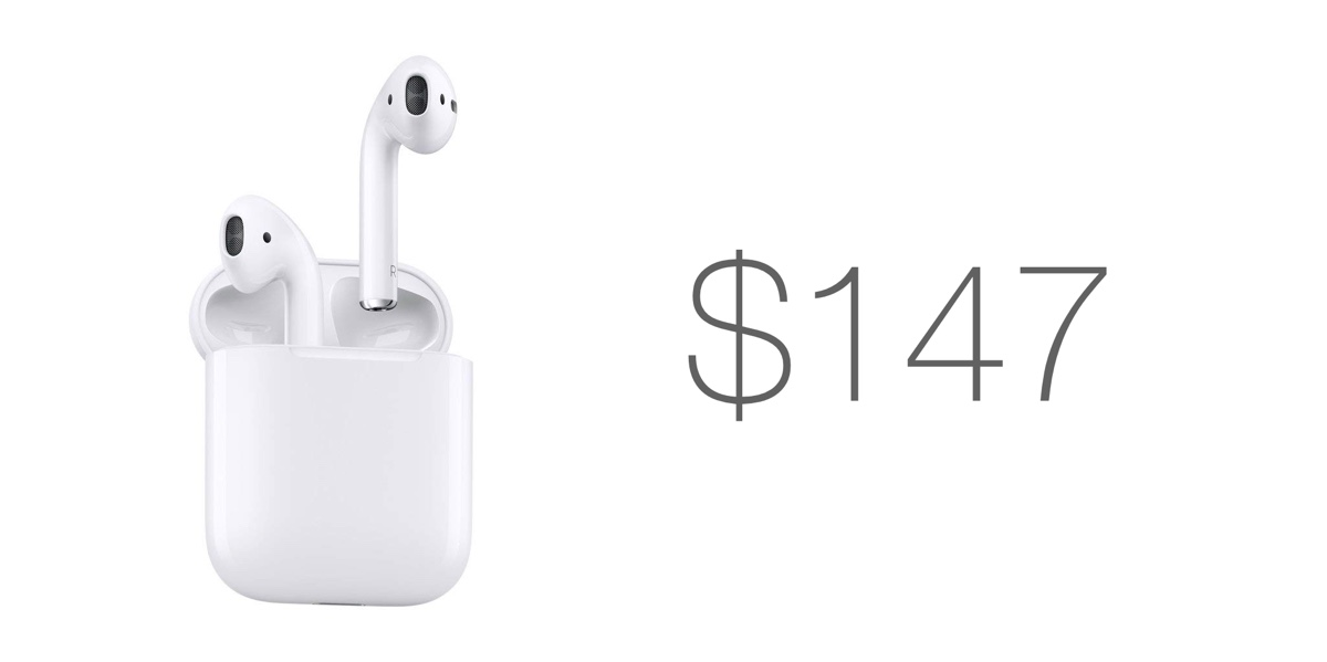 fbd4cd0bd0d Brand New AirPods 1 Are Discounted to $147, It's Not Much But it's ...