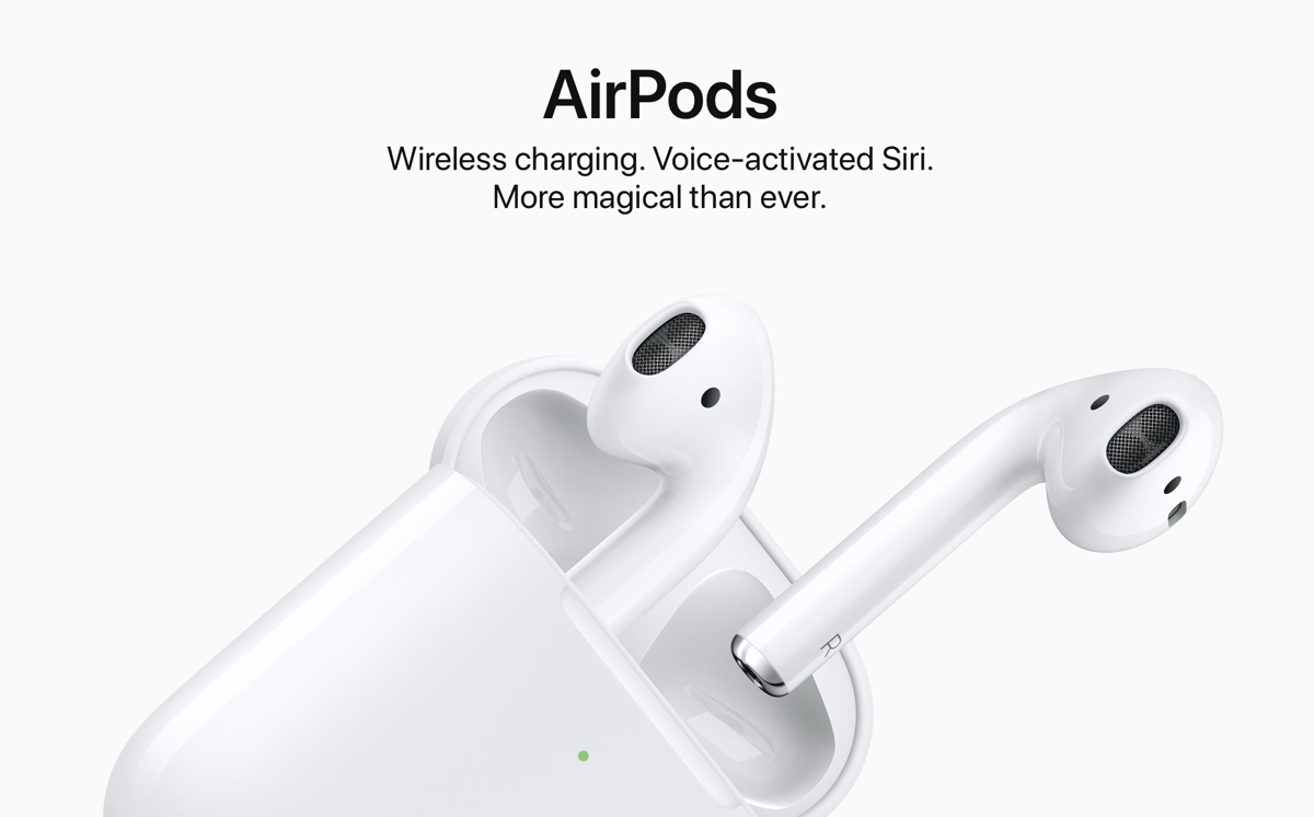 9ef2131d538 Apple AirPods 2 Announced: Features Brand New H1 Chip, Hey Siri Support,  Faster Device Switching