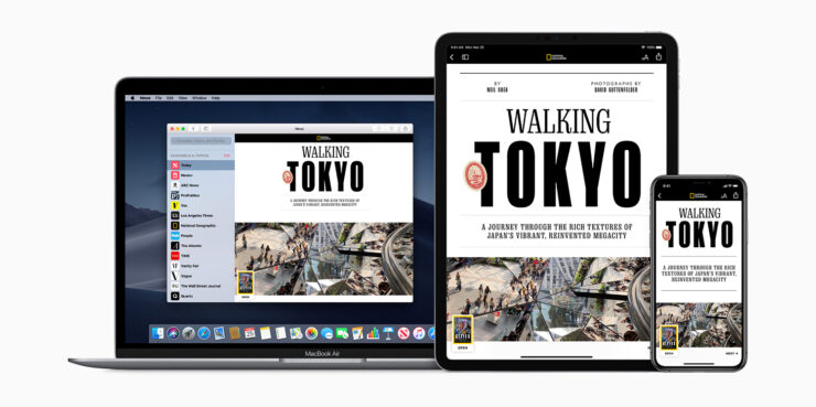 Apple News+ announced integrates traditional magazines