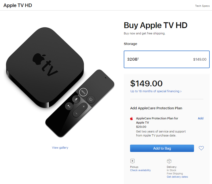 Apple TV 4 Gets a Name Change - Device Is Now Called Apple