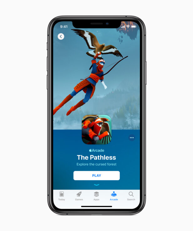 apple-introduces-apple-arcade-the-pathless-iphone-xs-03252019