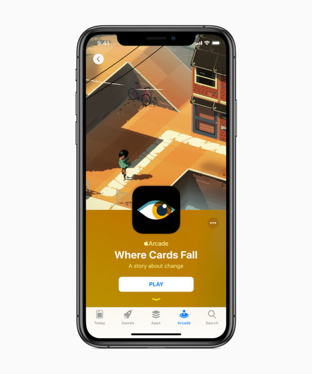 apple-introduces-apple-arcade-where-cards-fall-iphone-xs-03252019