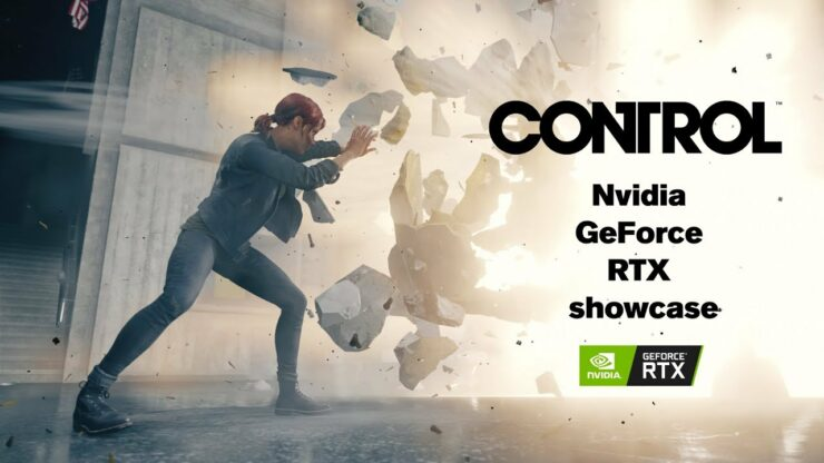 Control GeForce RTX ray tracing demo gdc 2019