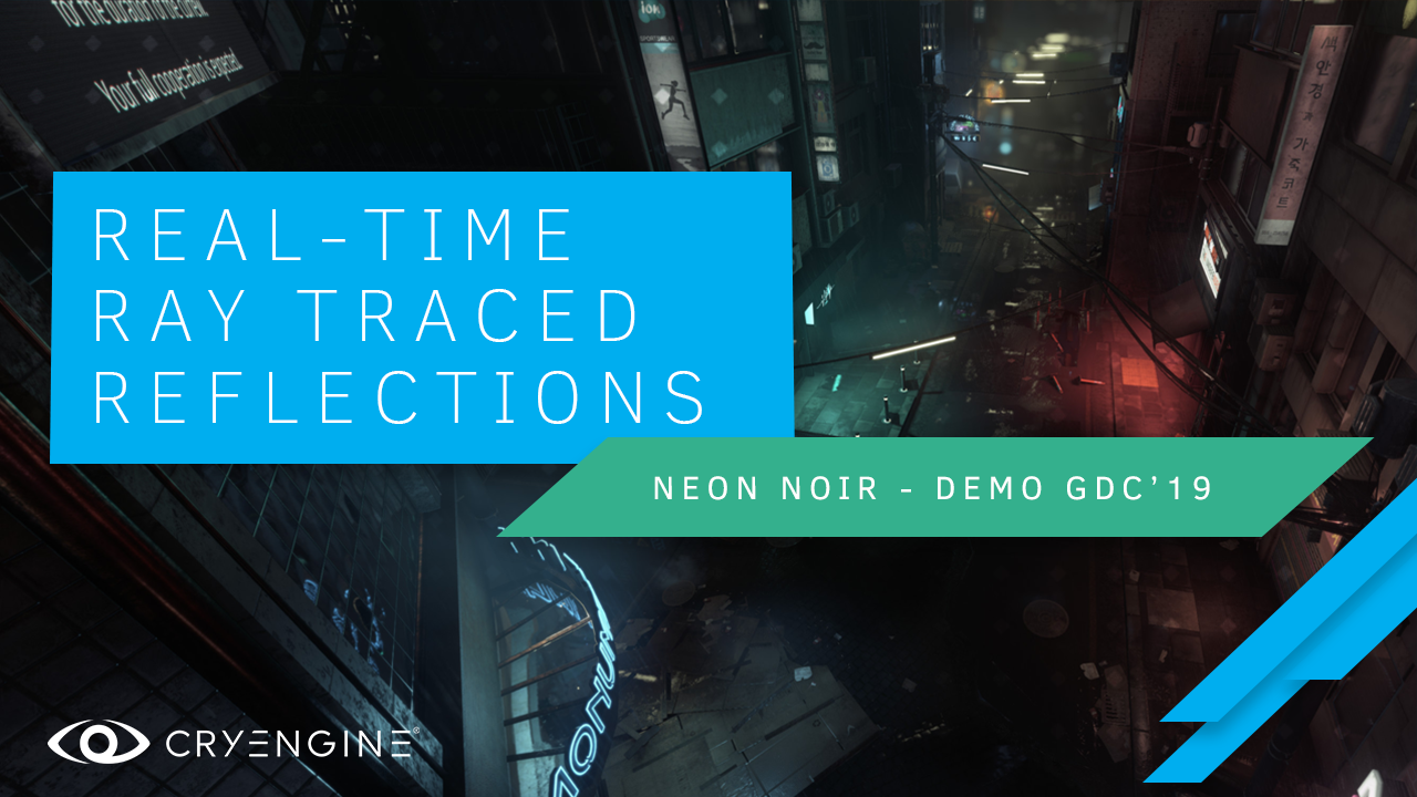 AMD RX Vega 56 Ran Neon Noir Ray Tracing Demo Ran at 1080p 30 FPS