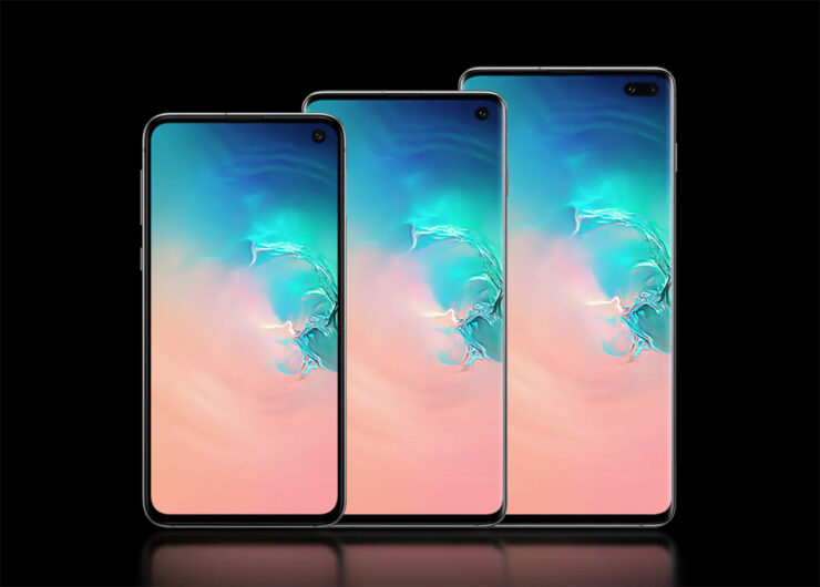 Galaxy S10 screen replacement costs high