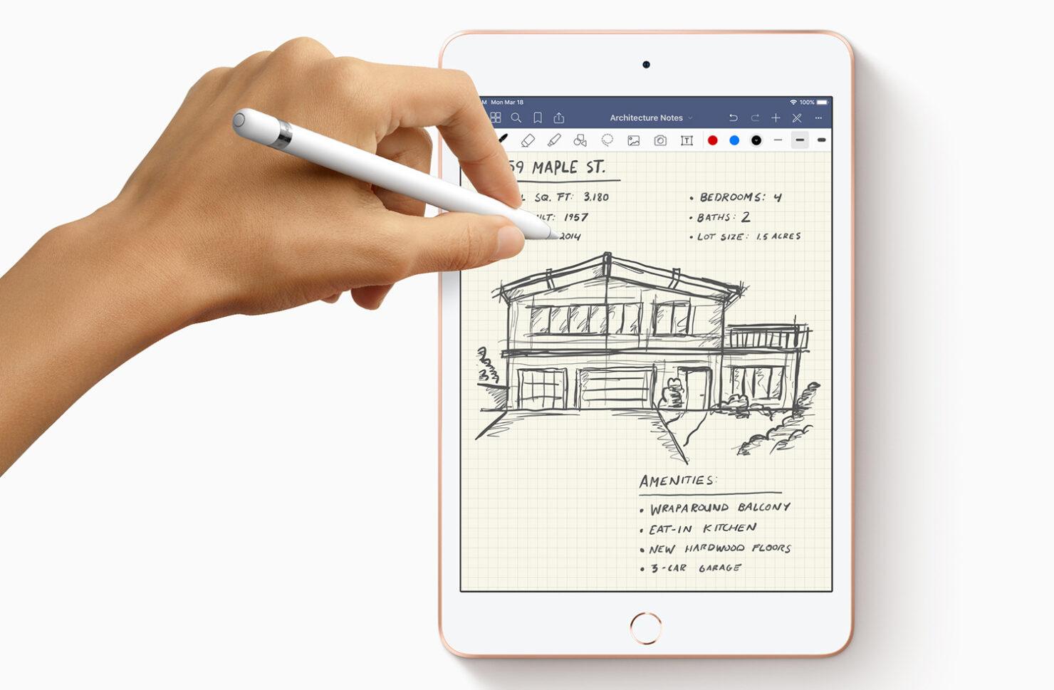 iPad Air iPad mini no second gen Apple Pencil support