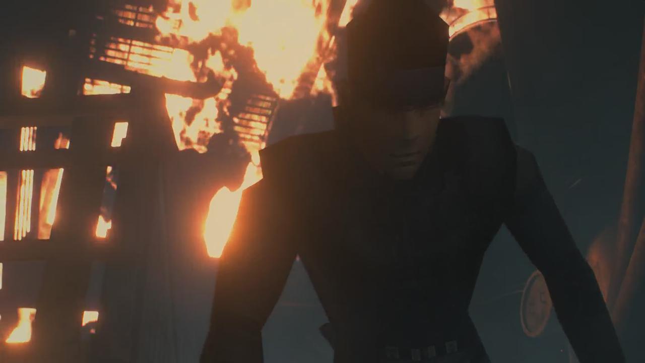 Resident Evil 2 Remake MGS Mod 3
