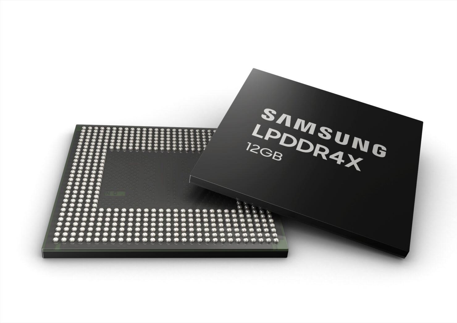 Samsung 12GB LPDDR4 DRAM for smartphones (1)
