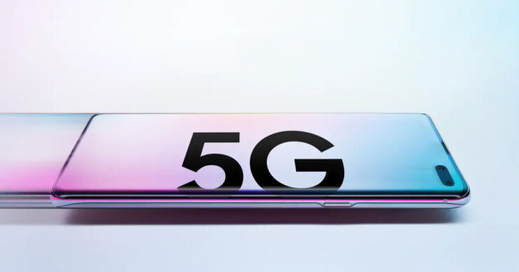 Samsung 5G ready smartphone
