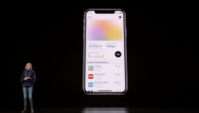 Apple enters financial services market with privacy-first credit card