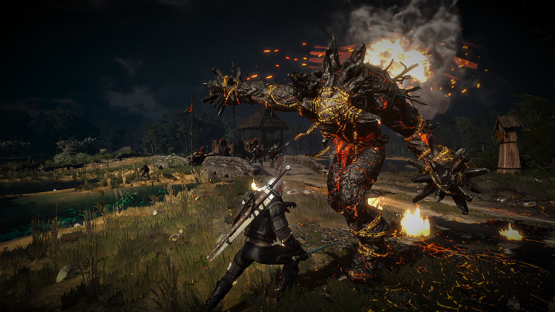 The Witcher 3 HDMR Mod Increases Details For Monsters