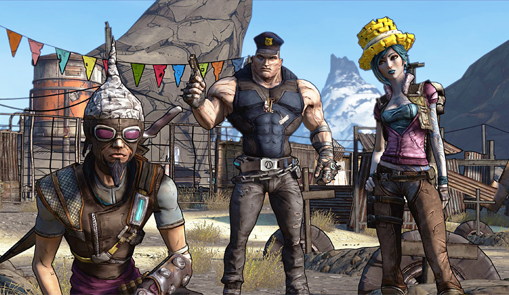 Borderlands Remaster and Borderslands 2/The Pre-Sequel 4K Texture