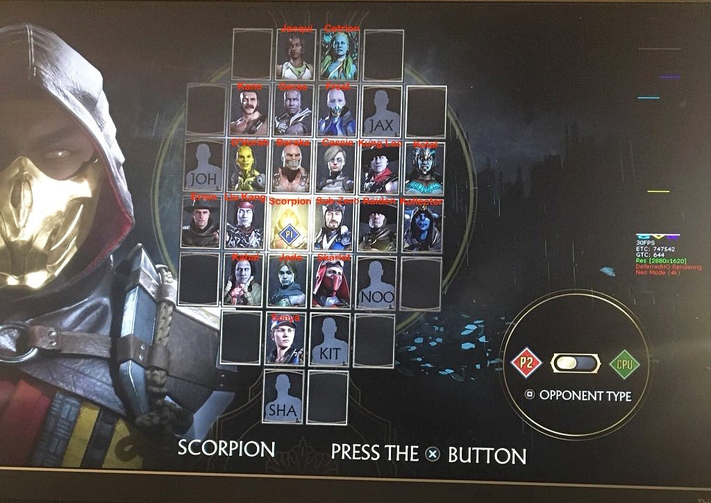 all mortal kombat 11 characters names