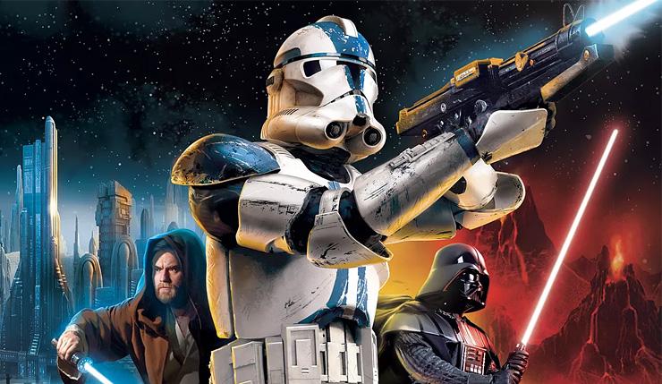 Star Wars Classics Including Original Battlefront II and