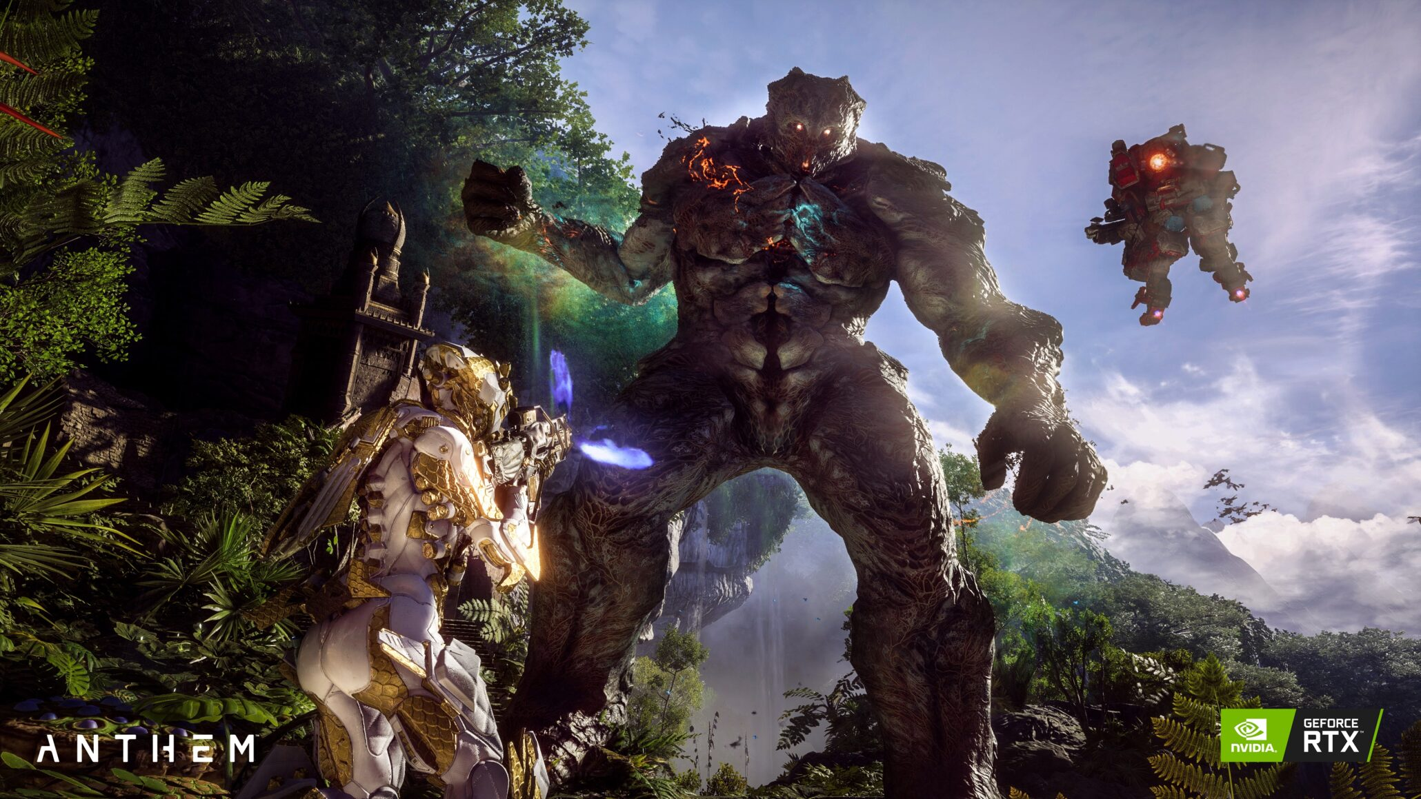 Nvidia Dlss Available Now In Anthem Delivering Up To 40 More