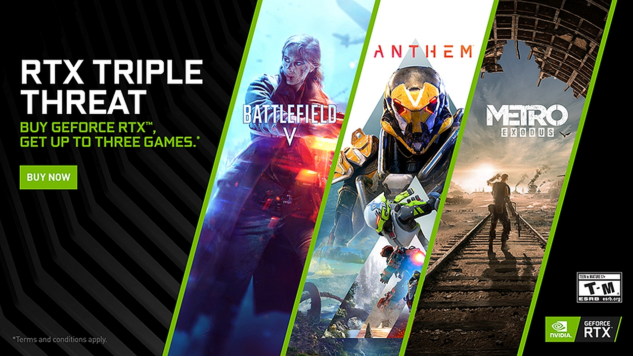 NVIDIA Announces New Driver for Apex, DMC5 and The Division 2, 'RTX