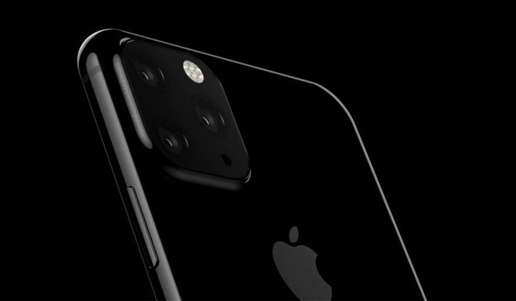 iPhone XI high capacity models triple rear cameras
