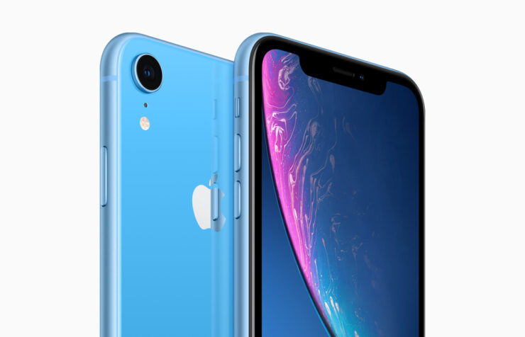 iPhone XR most popular US smartphone market January