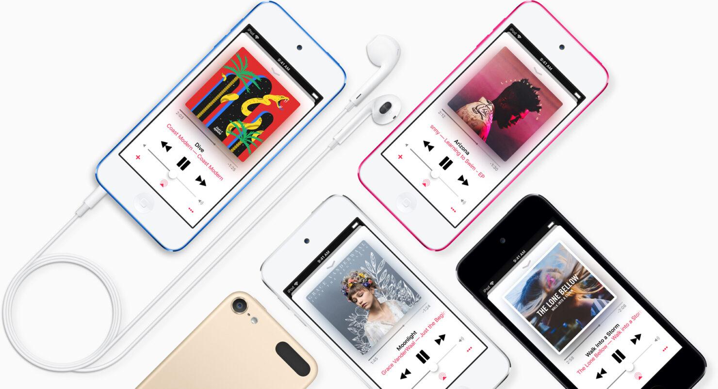 iPod touch 7 generation full screen design code leak
