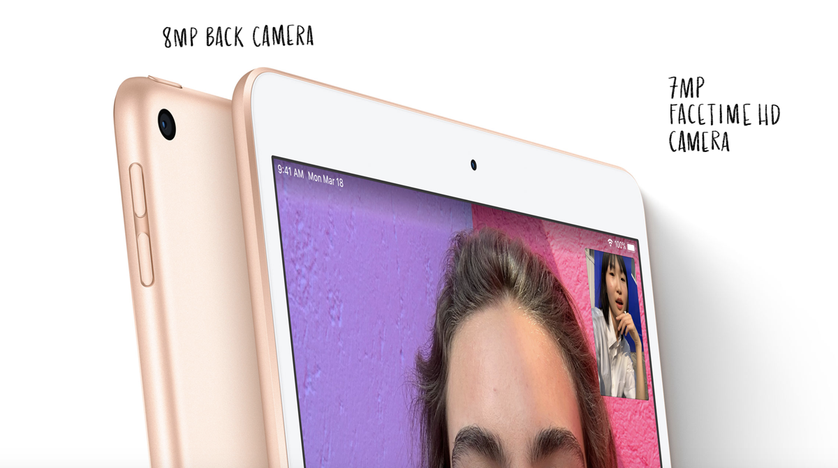 New iPad Air and iPad mini Feature Same Rear Cameras from