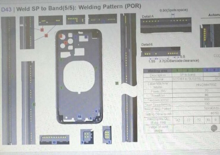 Apple next gen iPhone schematics leaked  touch ID? - Tech News