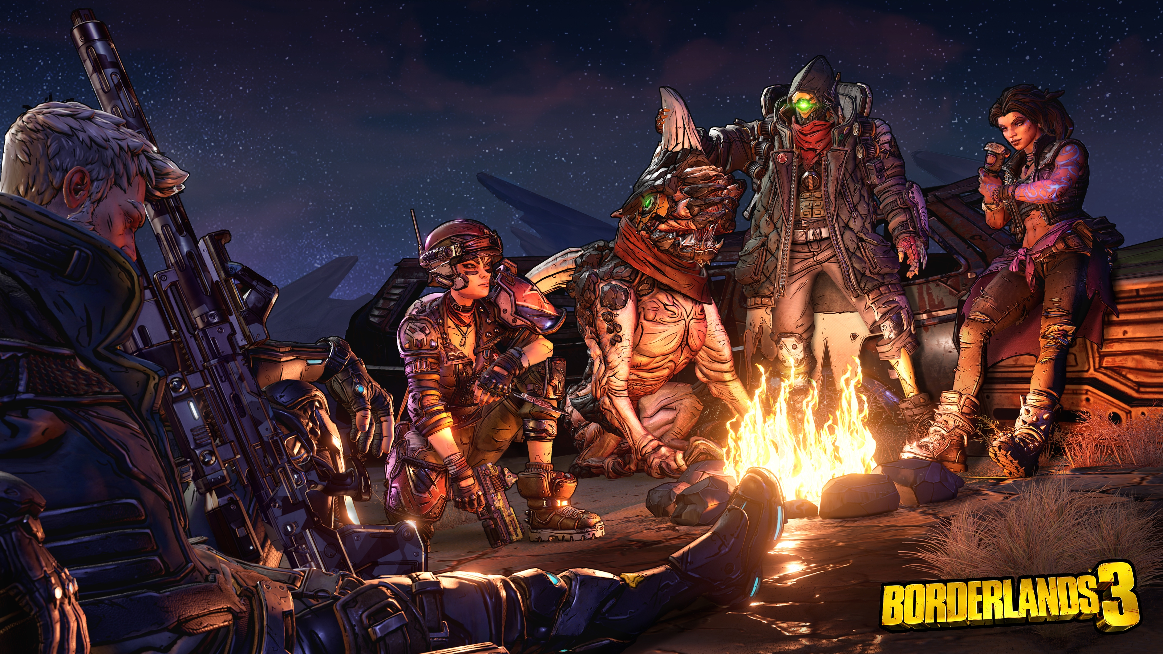 Borderlands 3 Bonfire