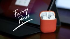 factory reset AirPods