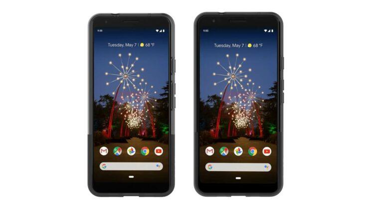 Google Pixel 3a evleaks image