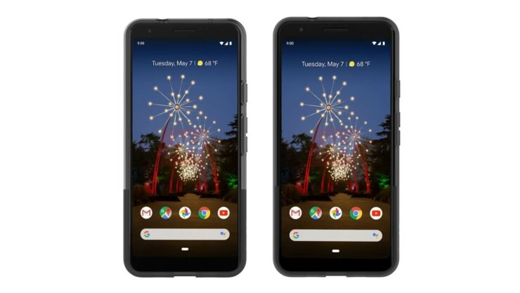 Google Pixel 3a XL alleged official renders