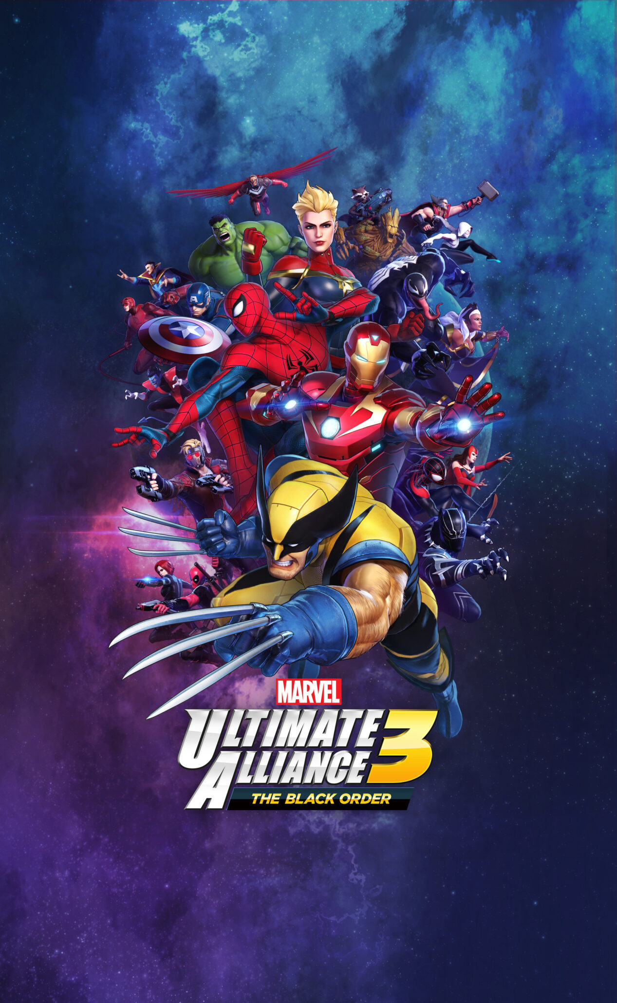 MARVEL ULTIMATE ALLIANCE 3: The Black Order Is Coming Out July 19th
