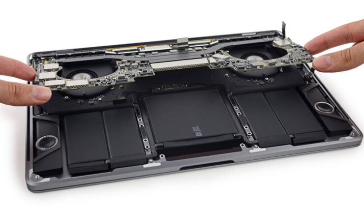 Apple top position laptop technical support