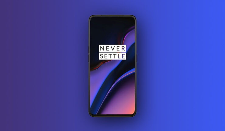 OnePlus 7 marketing image sliding camera