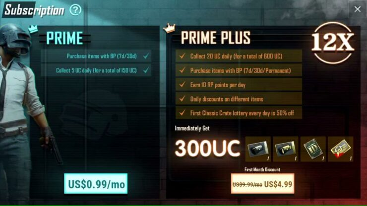 Pubg How To Earn More Battle Points Bp Every Game: PUBG Mobile Gets Prime And Prime Plus Subscriptions For