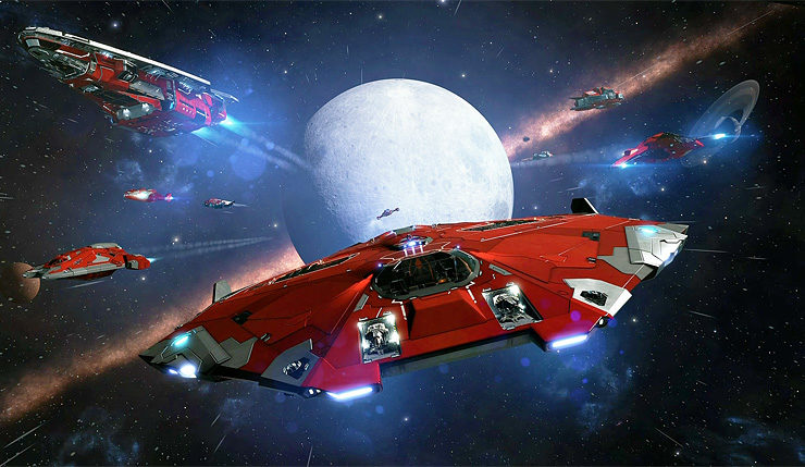 Elite Dangerous' Next Update to Add New Interstellar