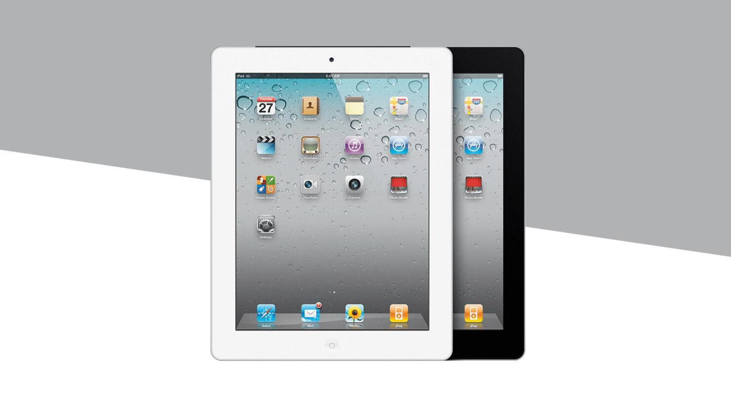 Apple iPad 2 vintage obsolete products