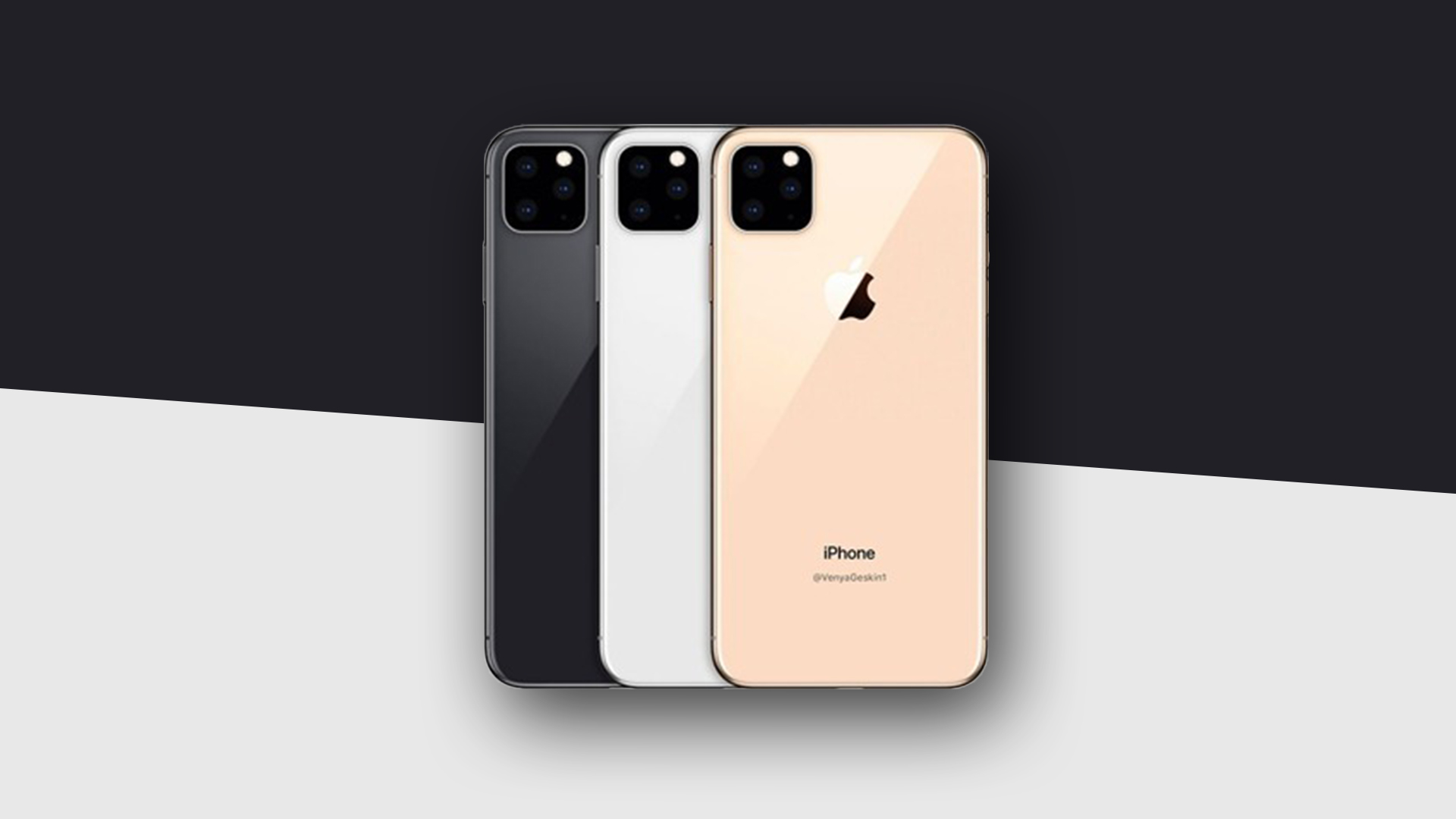 Iphone Xi 2019 Imagined With Three Cameras And A Big Notch